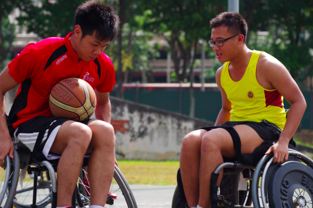 Adult Playground Singapore - Team Singapore Wheelchair Basketball
