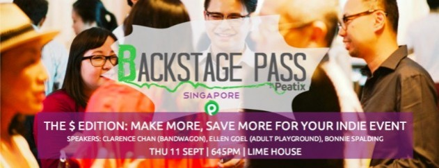 Backstage Pass 7 - The $ Edition