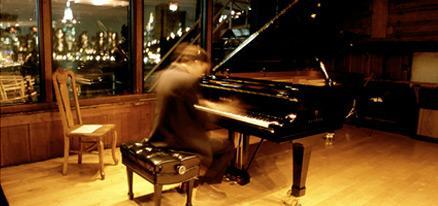 Bargemusic piano event