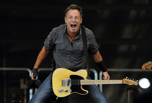 Bruce Springsteen finds out about Ticketmaster