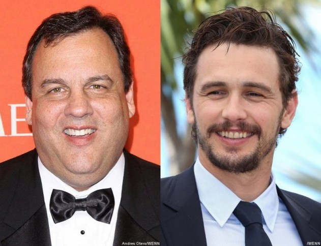 Chris Christie hearts James Franco