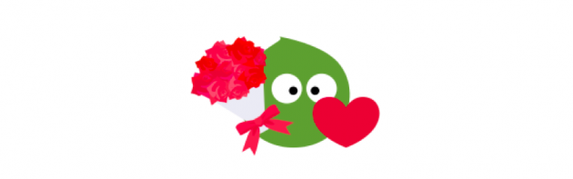 Valentine's Day Pea-chan