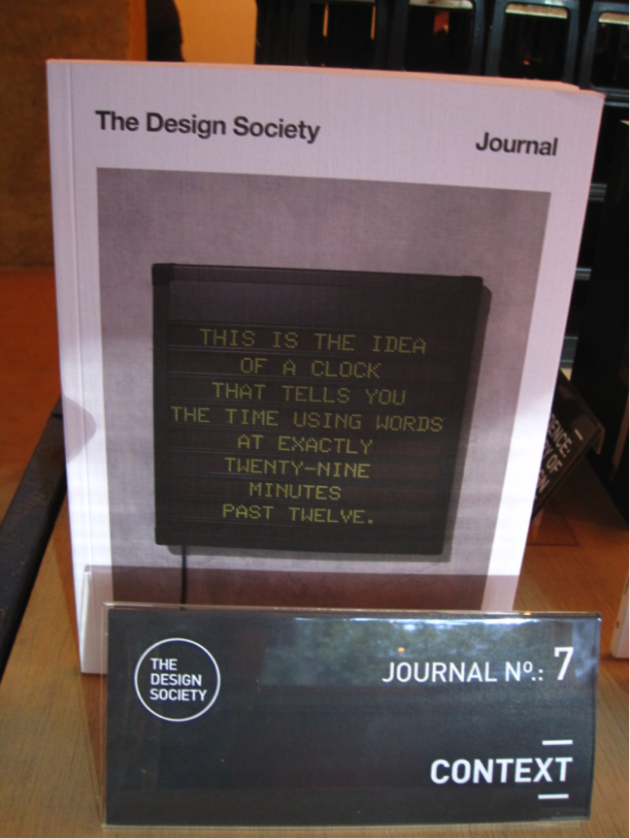 Design Society Journal 7