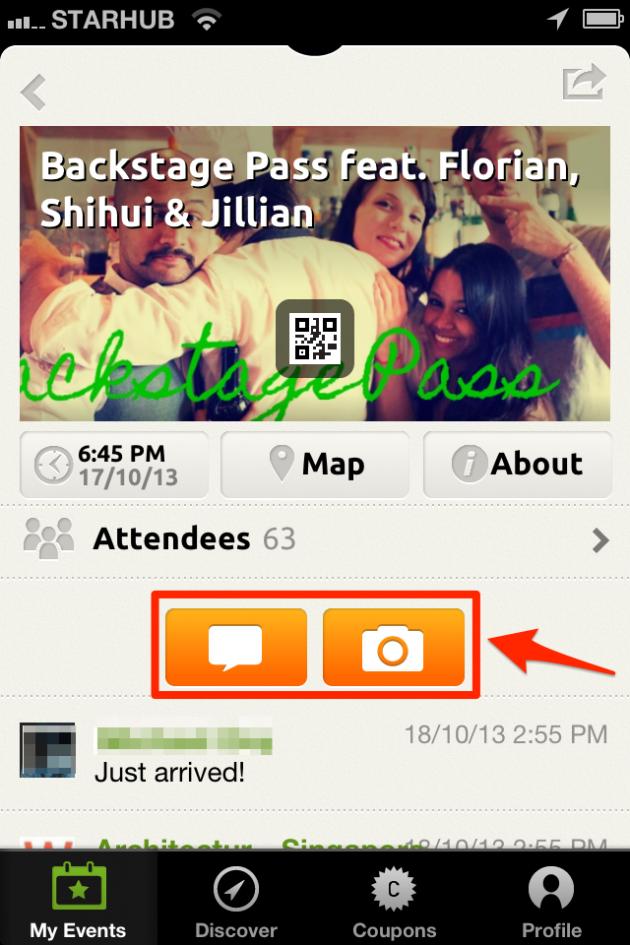 Event Timeline App