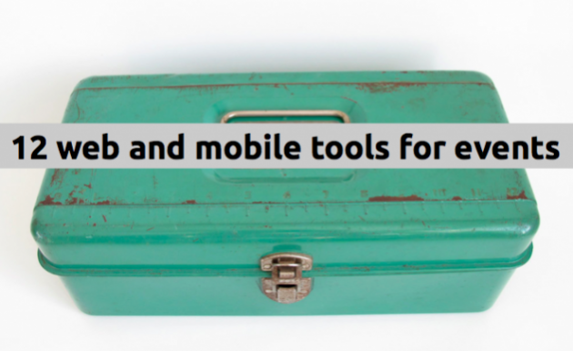 12 web and mobile tools for events