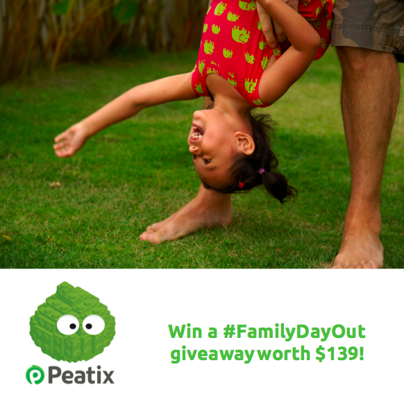 #FamilyDayOut package you could win between 24-28 March