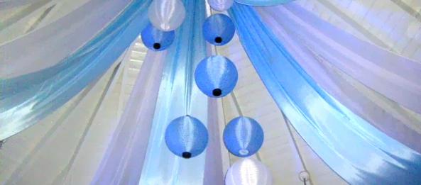 Blue Drapes