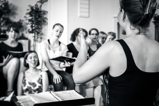 Ghostlight rehearsing