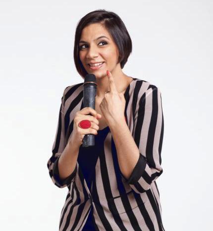 Host of Gypsy Comedy, Sharul Channa