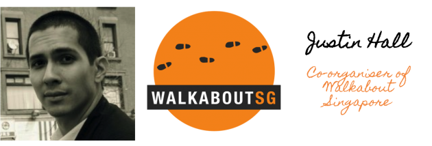 Justin Hall, co-organiser of WalkaboutSG