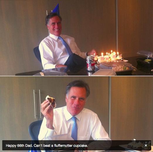 Mitt Romney sad birthday