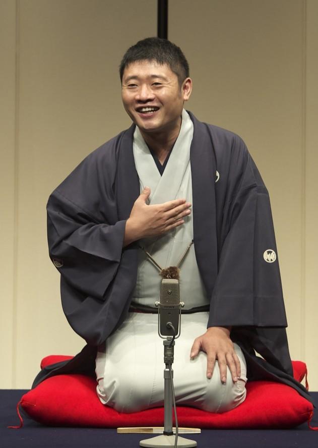Rakugo performer, Shinoharu Tatekawa
