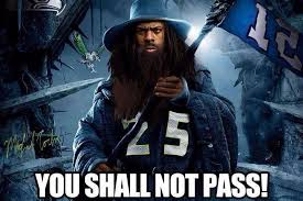 Richard Sherman Gandalf Meme