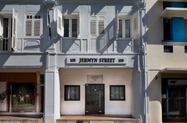 Singapore Venues: Jermyn Street