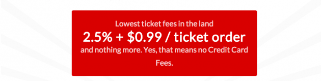 Low ticket pricing