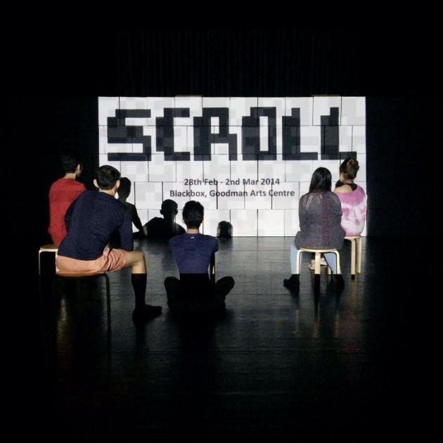Scroll, by Bound Theatre