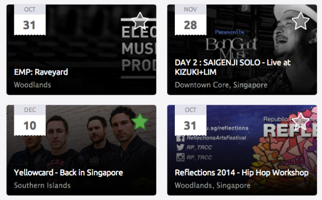 Search Singapore events on Peatix, save events to your wishlist