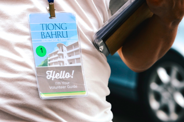 Tiong Bahru Heritage Walks Guide Tag
