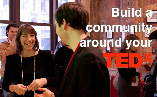 Build a community around your TEDx