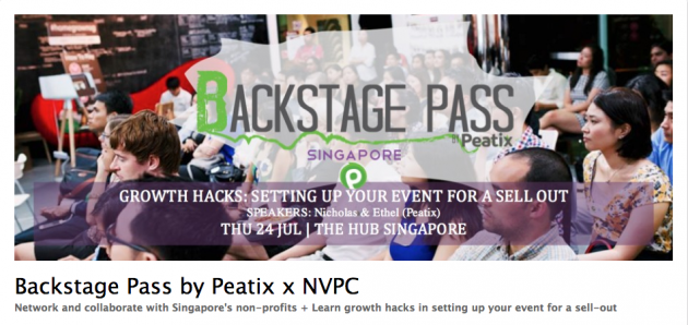 Backstage Pass by Peatix