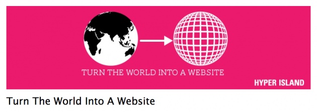 Turn the World into a Website