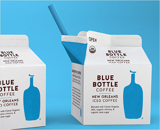Blue Bottle New Orleans Iced Coffee Carton in Stores
