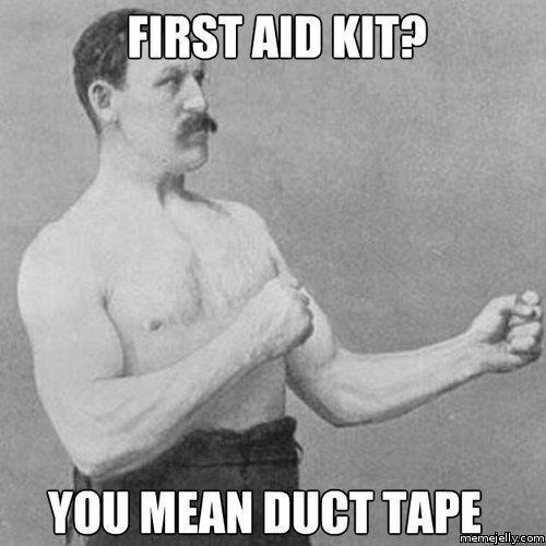 Duck tape meme
