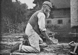 Early exposed bricklayer