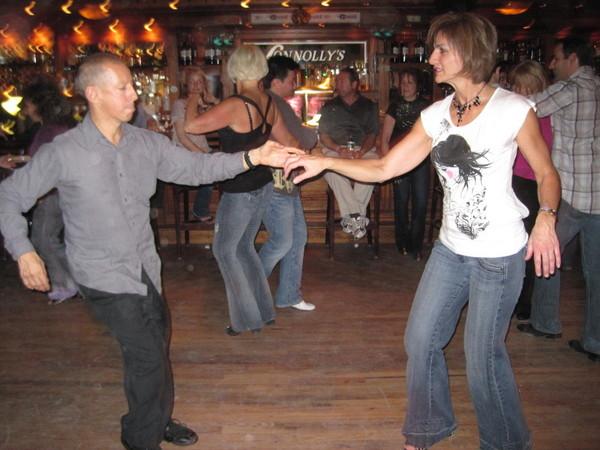 Mismatched dancers