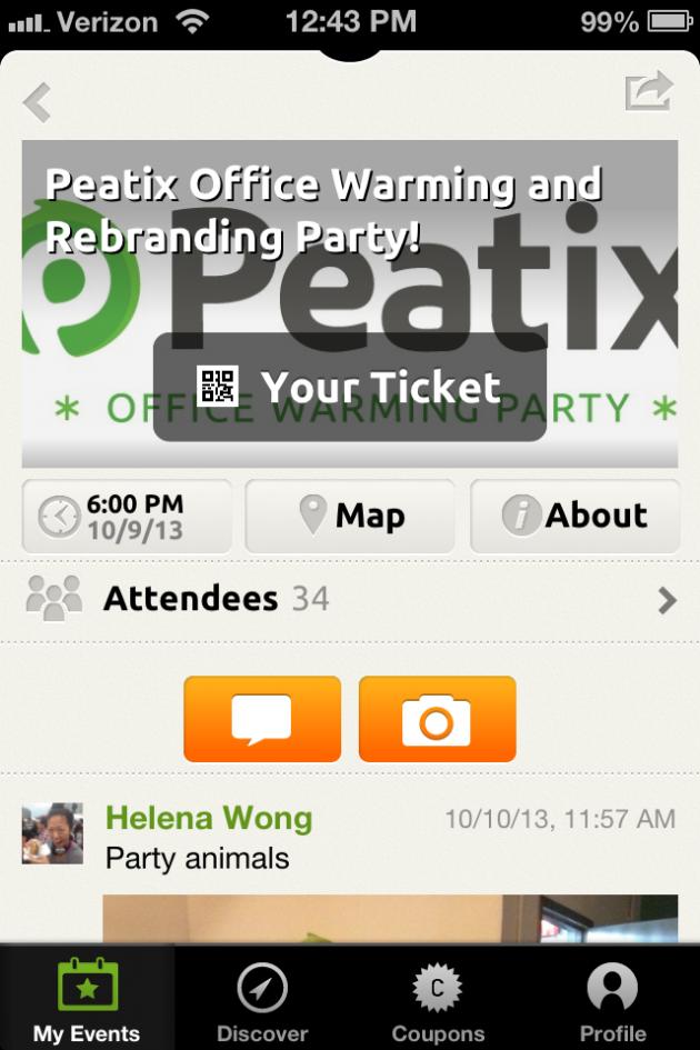 Peatix app