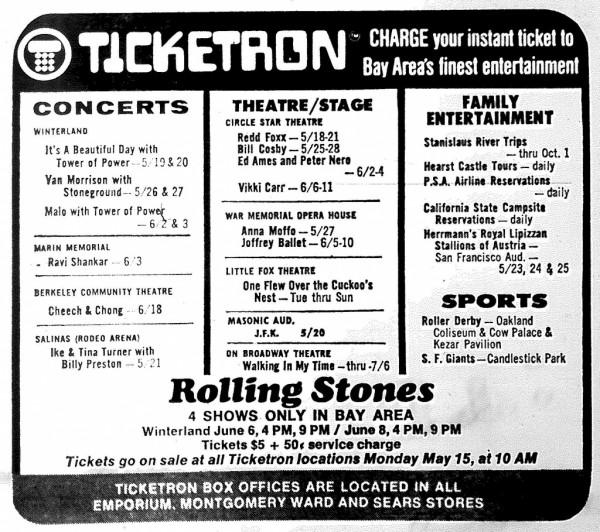 Rolling Stone $5 ticket