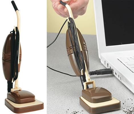 USB retro vacuum party favor